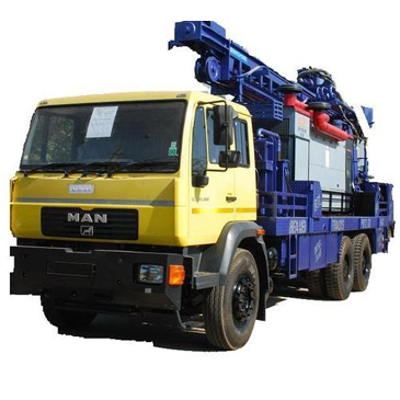 Truck Mounted Drilling Rig 02
