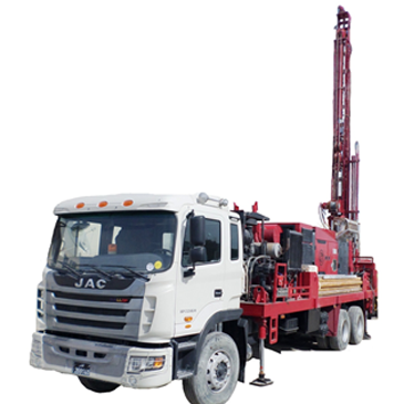 Truck Mounted Drilling Rig 03