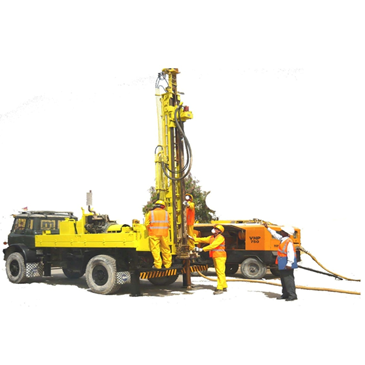 Truck Mounted Drilling Rig 05